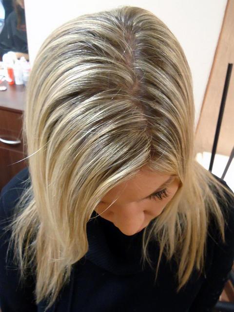 melírování vlasů